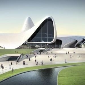 Haydar Aliyev Merkezi Oditoryumu (Bakü)